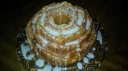 Lemon Rose Bunt Cake